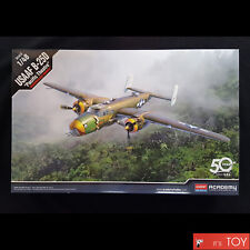 Academy 1/48 USAAF B-25D Pacific Theatre Aircraft Bomber Pla model kit #12328