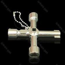 Universalschlüssel aus Metall für z.B.Heizungsentlüftung, Tür- und Fenstergriffe