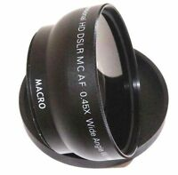 Hd Wide Angle With Macro Lens For Sony Slt-a77v Slt-a77