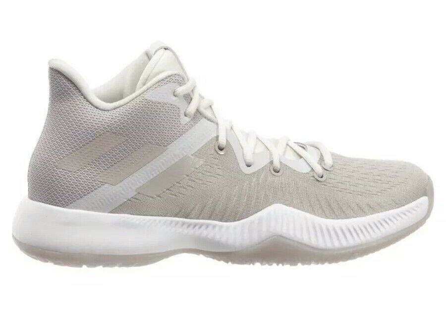 Adidas Mad Bounce Basketball shoes B27856 Men's US 10.5 Grey White NEW