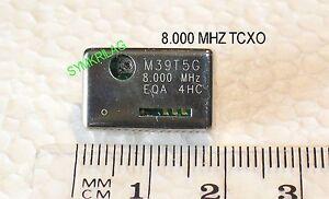 8-000-MHz-TCXO-euroquartz-tipo-M39GT50-5V-2-5ppm-20-70-C-CMOS-11-7X18-4X4-7mm