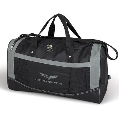 Chevrolet Corvette C6 Black Flex Sport Duffel Bag
