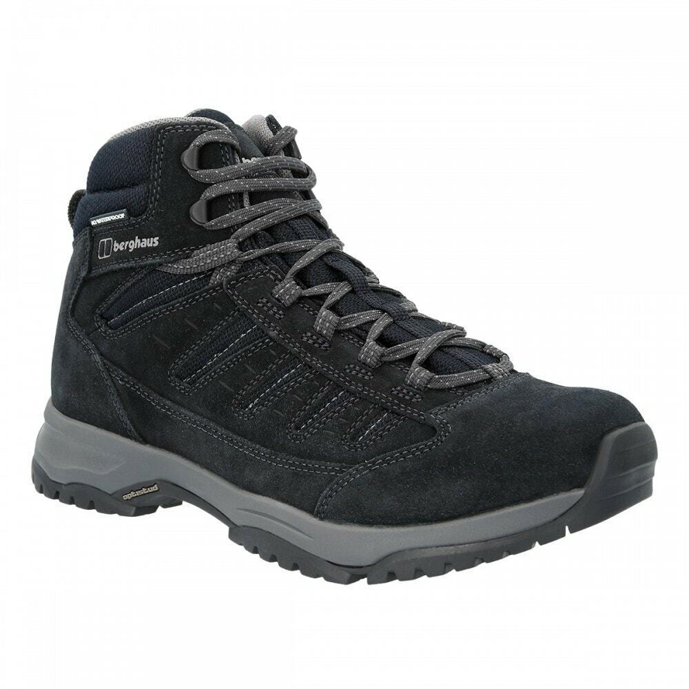 Berghaus Mens Expeditor Trek 2.0 Tech Hiking Boots (Dark Blue / Black)