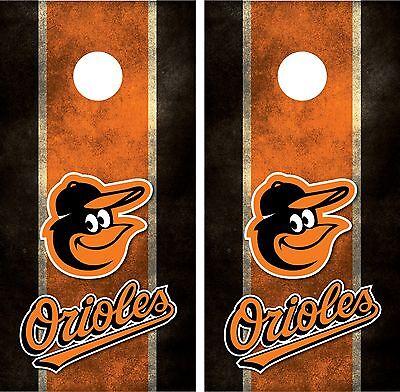 Baltimore Orioles Cornhole Board Decal Wrap Wraps