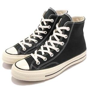 Converse-First-String-Chuck-Taylor-70-1970s-Hi-Black-Canvas-Men-Women-162050C