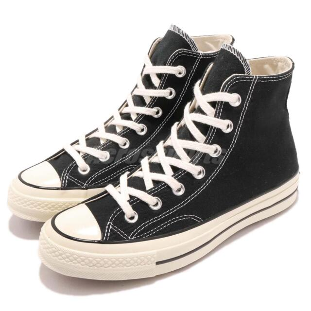 aec0b217f94 Converse First String Chuck Taylor 70 1970s Hi Black Canvas Men Women  162050C