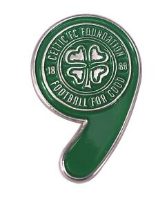 Celtic FC Foundation 9-in-a-row badge (quantity: 1)