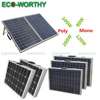 200w 120w 100w 80w Foldable Solar Panel Folding Solar Module Panels For Home