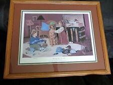 Ducks Unlimited Print Framed Dressing Up For DU LM Budge 550/1250