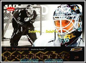 FLEER-2006-ILYA-BRYZGALOV-NHL-ANAHEIM-DUCKS-GOALIE-MINT-NETMINDERS-INSERT-N1