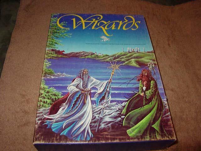 Avalon Hill 1982-Wizards-aventura en las islas encantado (primera Edición)
