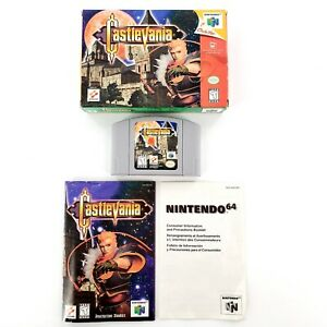Castlevania-Nintendo-64-1999-Authentic-Complete-w-Box-amp-Manual-Tested-Works