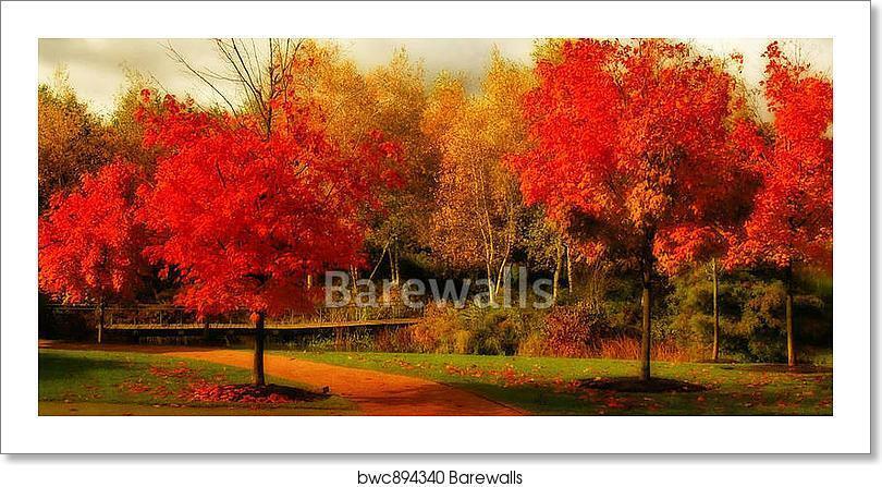Beautiful Fall Farbe Art Print Home Decor Wall Art Poster - L