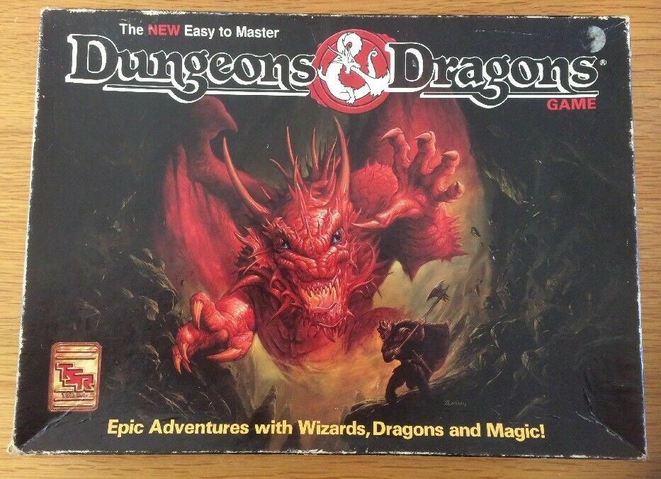 Dungeons & Dragons Game 1070 By TSR Complete