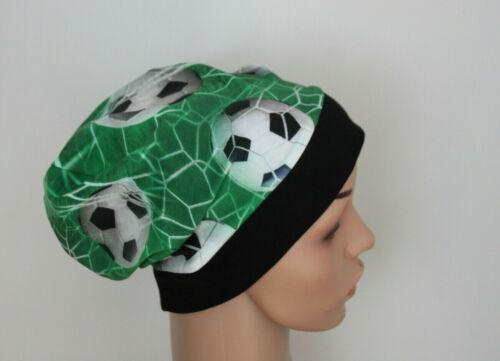 Football Football Bonnet Beanie Enfants Garçons Vert