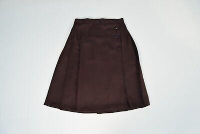 Romford Brown Kilt Skirt Girls School Brentwood Essex Uniform
