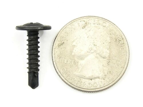 """GM Self Tap #8 Phillips Washer Head Trim Screws 1//2/"""" to 1/"""" Long Qty.75 #330"""
