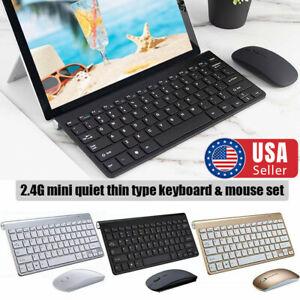 Mini-USB-2-4G-Wireless-Keyboard-amp-Mouse-Combo-Cordless-Kit-for-Mac-PC-Computer