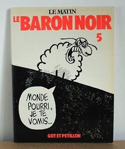 le baron noir N°5 Got et Petillon 1980 EO