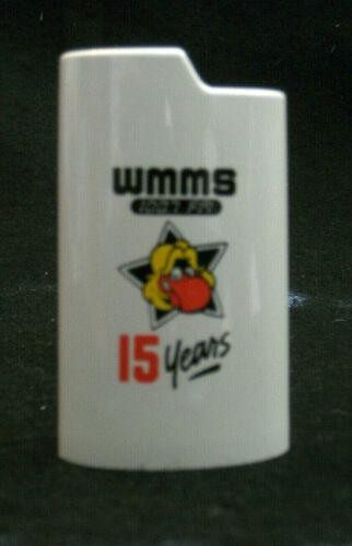 WMMS RADIO Cleveland BUZZARD 15th Anniversary Bic-lighter holder from 1983