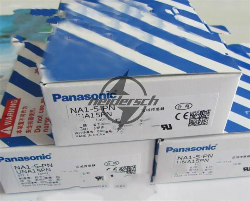 1PCS Nuevo en Caja de Sunx Panasonic NA1-5-PN (NA1-5D-PN+NA1-5P-PN) Sensor de Caja zona 3909dd
