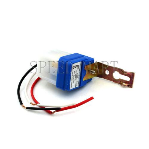 AC 220V Automatic Night On//Day Off Street Light Switch Photo Sensor Waterproof