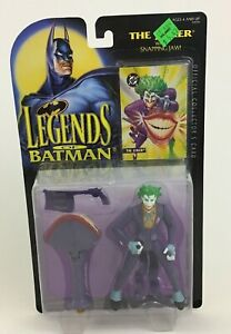 Legends-of-Batman-The-Joker-with-Snapping-Jaw-5-034-Figure-Vintage-1995-Kenner