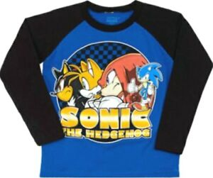 Sonic The Hedgehog T Shirt Size M L Xl New Child 5 6 7 8 10 12 14 16