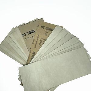 "10pcs Wet Dry Sandpaper Sheets 400-8000 Grit 9*3.5/"" Abrasive Sanding Paper"