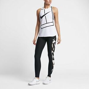 mujer para 837224 010 Nike Court Graphic de tenis Grande Medias 8zXYc