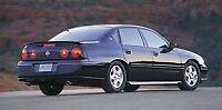 2000-2005 Chevy Impala Rear Right Door Glass