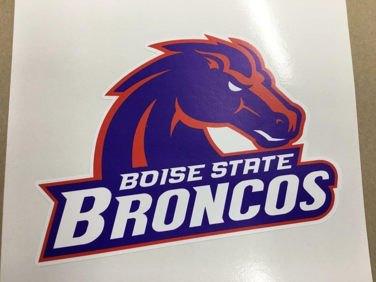 Boise State cornhole board or vehicle  decal(s)BS3  we offer various famous brand