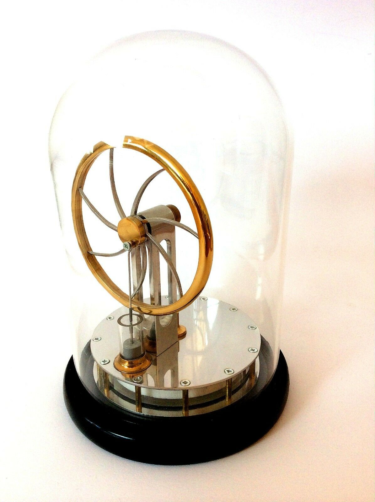 Glass Dome for CarlAero Stirling Engine - High quality & heavy gauge Glass