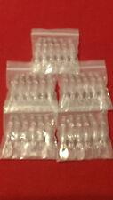 30 PCS Unpainted Clear Plastic Fishing Lures