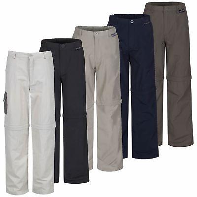 Regatta Heathtek II Kids Zip Off Stretch Walking Trousers Shorts RKJ053