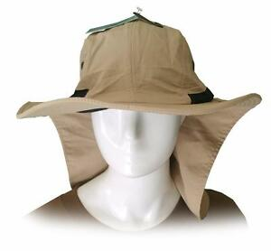 9879b2b03b5 New Neck Flap Bucket Hat Fishing Hiking Safari Outdoor Sun Brim soft ...