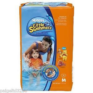 Huggies Little Swimmers, Medium, 24-34 lb, 36 Ct