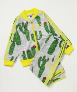 Details About Adidas Originals Mini Rodini Cactus Superstar Tracksuit 18m Bq4293 Jacket Pants
