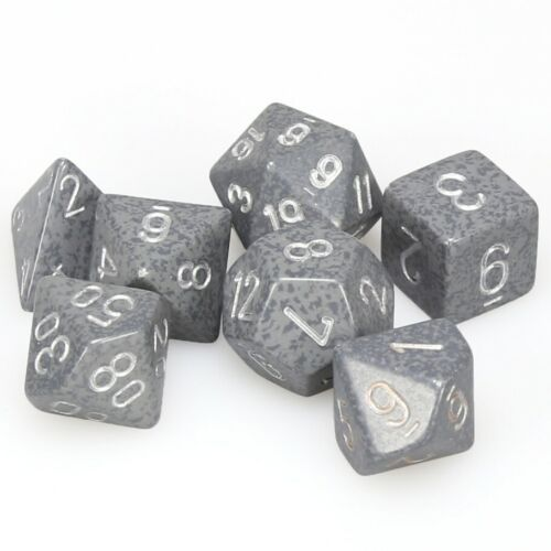 CHESSEX DICE POLYHEDRAL 7-SET SPECKLED