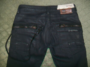 G-STAR-3301-COATED-PLUS-SUDDEN-STRAIGHT-JEANS-SIZE-24