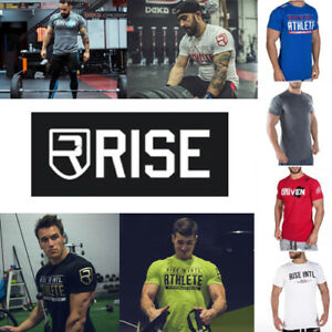 Activewear Tops Performance Driven Crossfit Gym Bodybuilding Athlete T-shirt Men's Clothing Honey Rise Intl Shirt