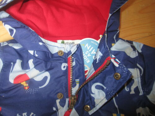 JOULES Baby Barnaby Lined Elephant Waterproof Coat 3-6m RRP£37.95 FreeUKP/&P