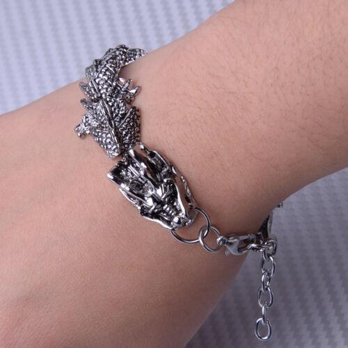 Bracelet de dragon de roche Dragon Bracelet Chain Bangle Biker Jewelry Gift