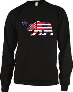 california bear star american flag colors united states stripes ca