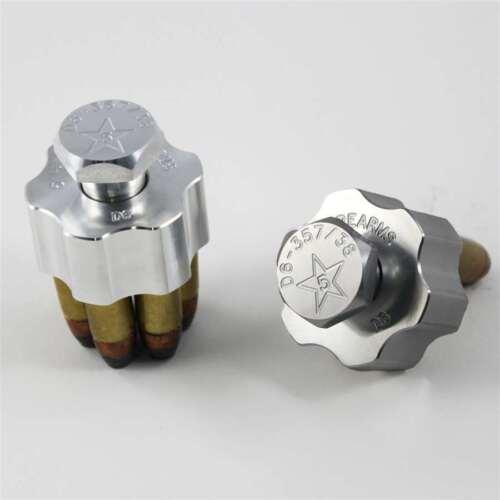 Speedloader 6-shot .357//.38 Solid Billet Aluminum D6-357//38 Range Block