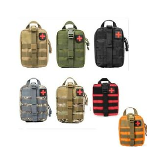 Tactical Pouch Storage Medic First Aid Kit MOLLE Rip-Away EMT IFAK Medical Bag