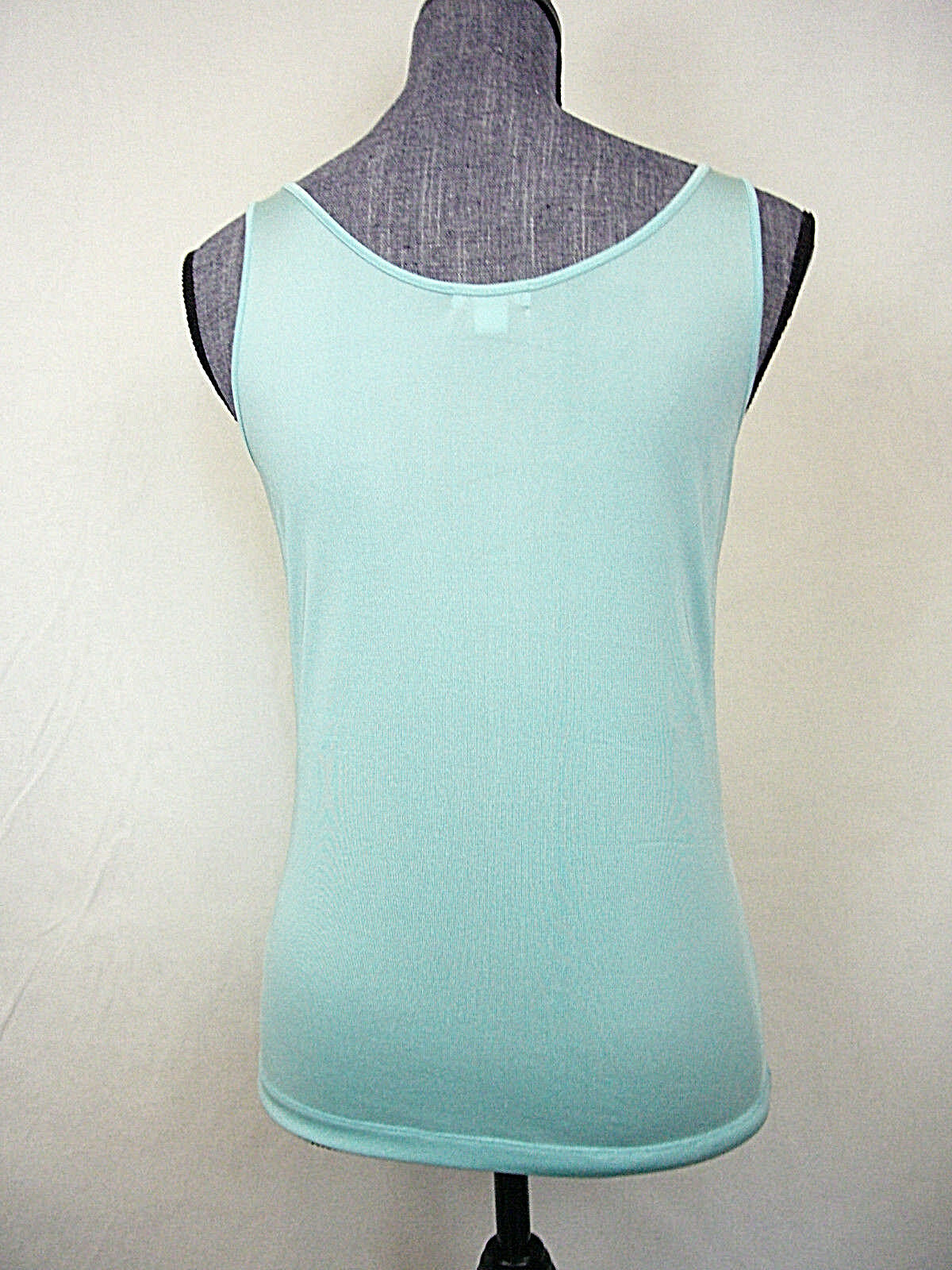 Walter Turquoise Sleeveless Silk Shell Top New, sz M