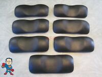 Leisure Bay Spa Hot Tub Neck 7 Pillow Set Lbi Black Head Rest Video How To
