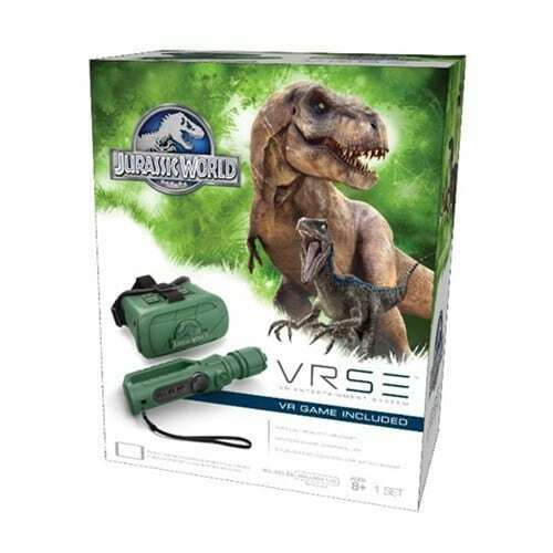 NEW VRSE Jurassic World Virtual Reality Game Headset Extreme Graphics