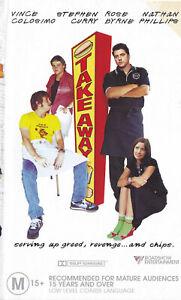TAKE-AWAY-Vince-Colosimo-Rose-Byrne-VIDEO-VHS-Pal-SirH70
